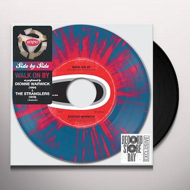Dionne Warwick / Stranglers SIDE BY SIDE: WALK ON BY Vinyl Record