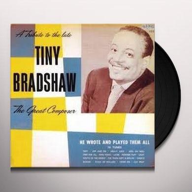 Tiny Bradshaw GREAT COMPOSER Vinyl Record