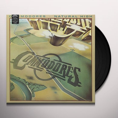 Commodores NATURAL HIGH (3 TIMES A LADY) Vinyl Record