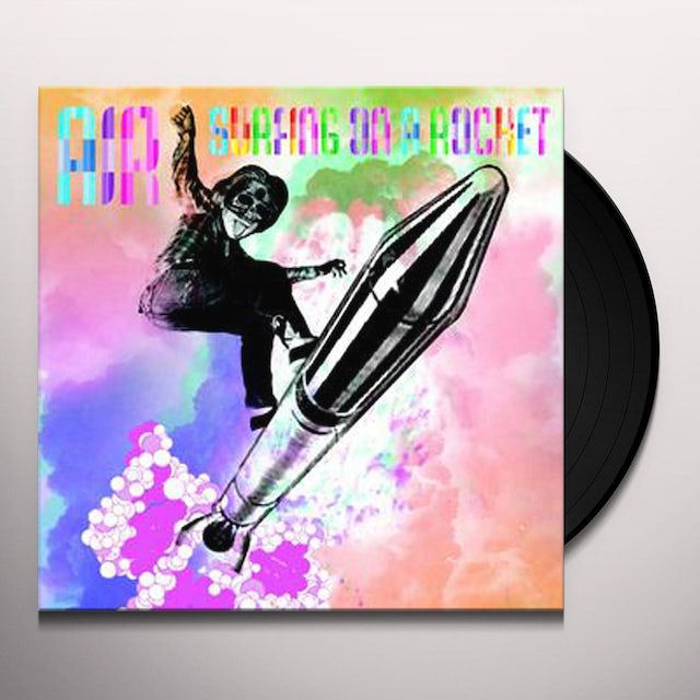 Air SURFING ON A ROCKET Vinyl Record
