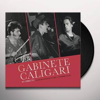 Gabinete Caligari EN MADRID DIRECTO 1984 Vinyl Record