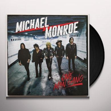 Michael Monroe ONE MAN GANG Vinyl Record