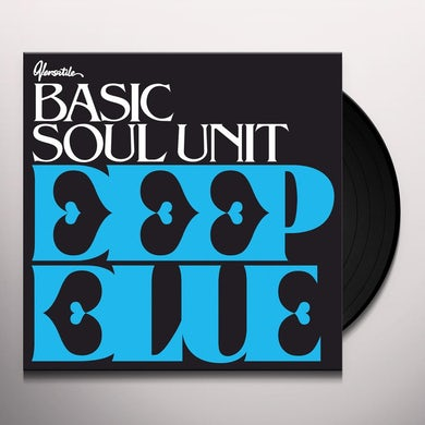 Basic Soul Unit DEEP BLUE EP Vinyl Record