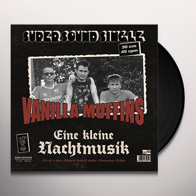 Vanilla Muffins LITTLE NIGHT MUSIC Vinyl Record