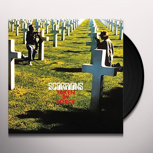 Scorpions TAKEN BY FORCE: 50TH ANNIVERSARY Vinyl Record