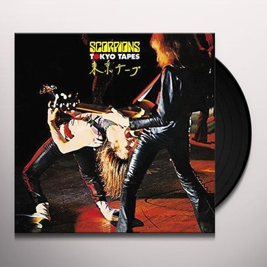 Scorpions TOKYO TAPES Vinyl Record