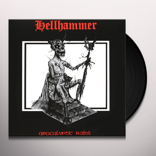 Hellhammer APOCALYPTIC RAIDS Vinyl Record