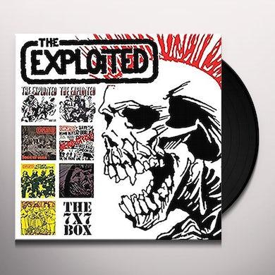 The Exploited X7 BOX Vinyl Record