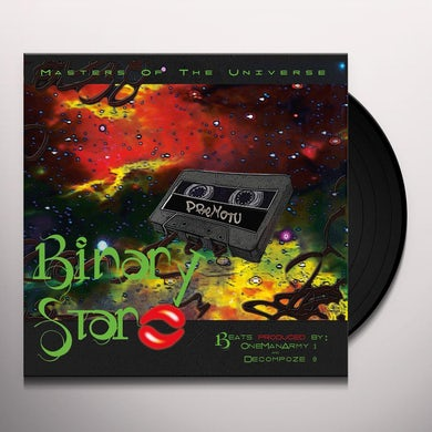Binary Star MASTERS OF THE UNIVERSE Vinyl Record