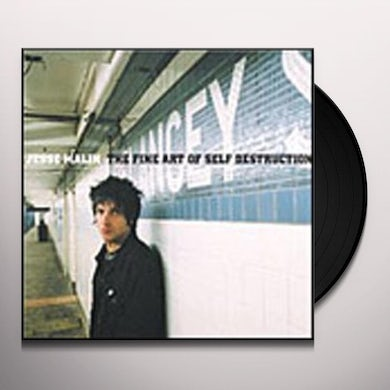 Jesse Malin FINE ART OF SELF DESTRUCTION Vinyl Record - UK Release
