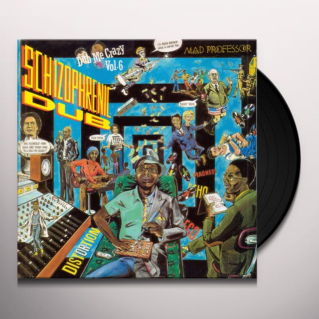 Mad Professor SCHIZOPHRENIC DUB - DUB ME CRAZY 6 Vinyl Record