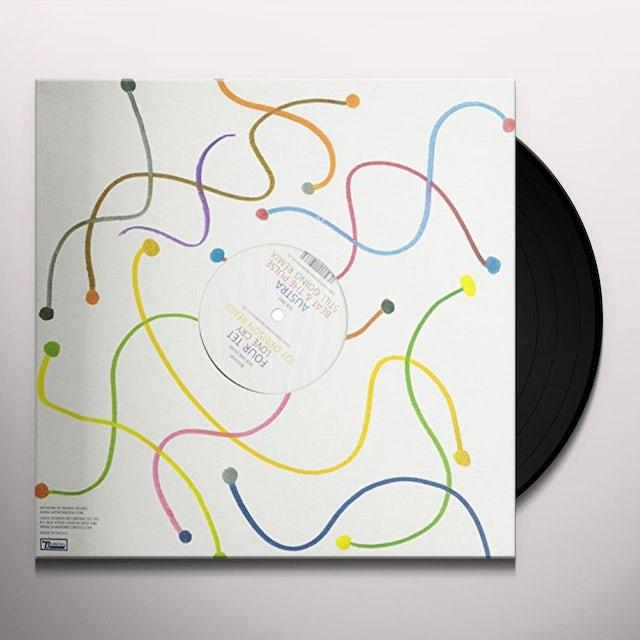 Four Tet / Austra MOTION SICKNESS: REMIXES PART II Vinyl Record