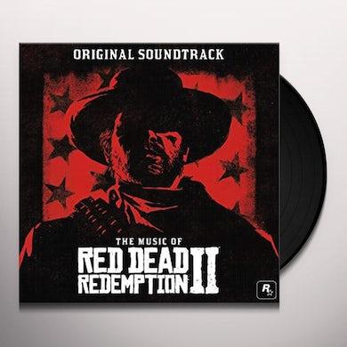 Various Artists MUSIC OF RED DEAD REDEMPTION 2 (ORIGINAL SCORE) (2LP/TRANSPARENT VINYL/GATEFOLD/PRINTED SLEEVES) Vinyl Record
