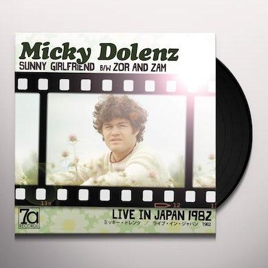 Micky Dolenz LIVE IN JAPAN Vinyl Record