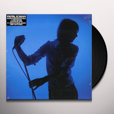 Primal Scream MANTRA FOR A STATE OF MIND / GRAVITATIONAL WAVES Vinyl Record