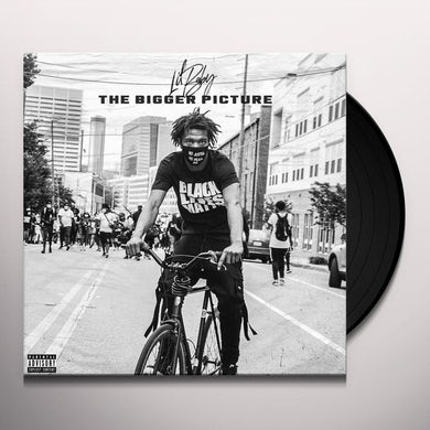 """Lil Baby The Bigger Picture (Glossy Black 12"""") Vinyl Record"""