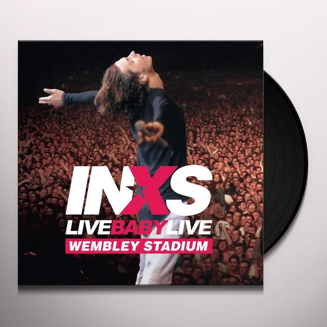 INXS LIVE BABY LIVE Vinyl Record