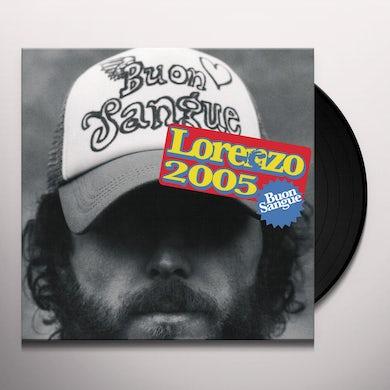 Jovanotti BUON SANGUE Vinyl Record