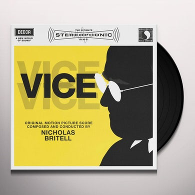 Nicholas Britell VICE (SCORE) / Original Soundtrack Vinyl Record