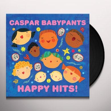 Caspar Babypants HAPPY HITS! Vinyl Record