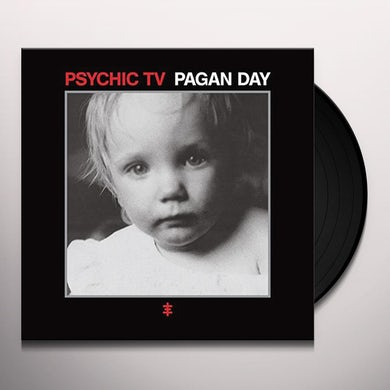 Psychic Tv PAGAN DAY (RED VINYL) Vinyl Record
