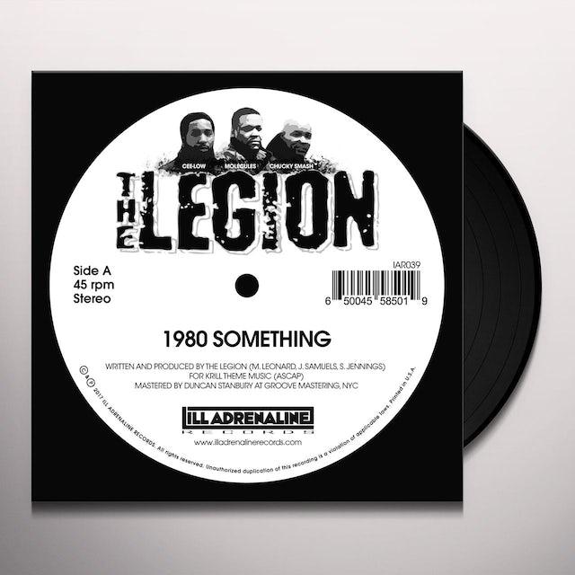 Legion 1980 SOMETHING / HEARD WE QUIT Vinyl Record