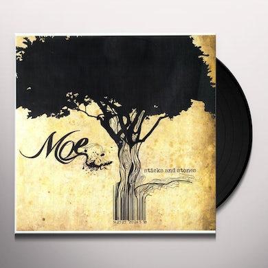 moe. STICKS & STONES Vinyl Record
