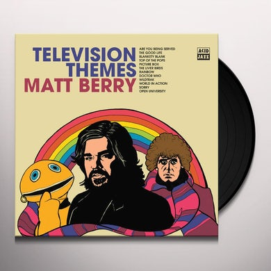 Matt Berry TELEVISION THEMES Vinyl Record