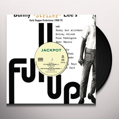 Striker Bunny Lee & Aggrovators IT'S A DISGRACE Vinyl Record