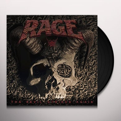 Rage DEVIL STRIKES AGAIN Vinyl Record