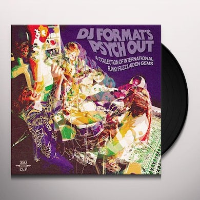 DJ FORMAT'S PSYCH OUT / VARIOUS Vinyl Record - UK Release