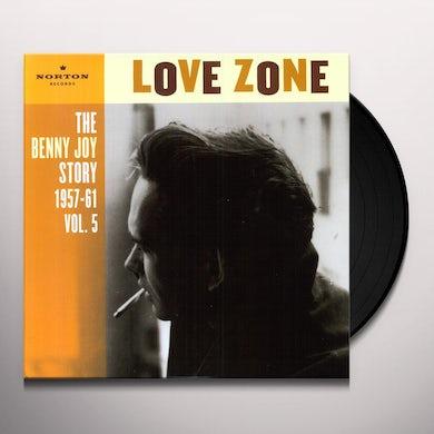 Benny Joy LOVE ZONE 5 Vinyl Record