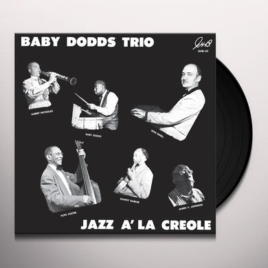 Baby Dodds Trio JAZZ A LA CREOLE Vinyl Record