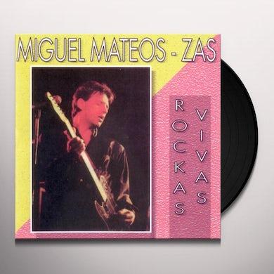 Miguel Mateos ROCAS VIVAS Vinyl Record