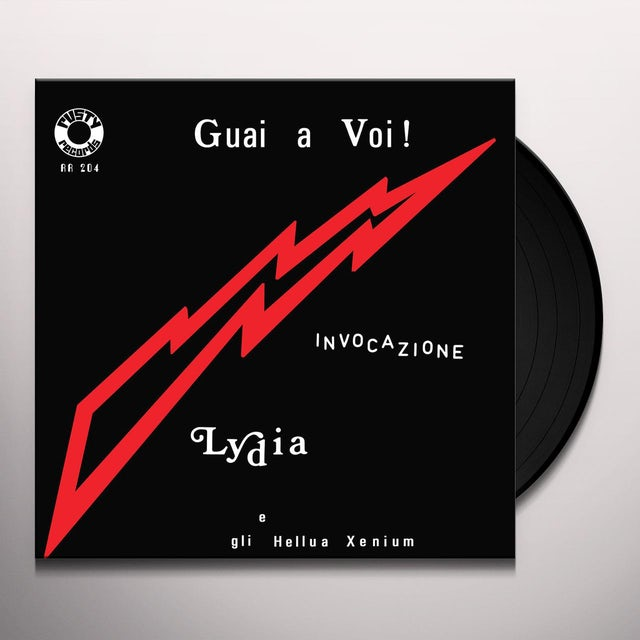 Lydia E Gli Hellua Xenium GUAI A VOI! / INVOCAZIONE Vinyl Record