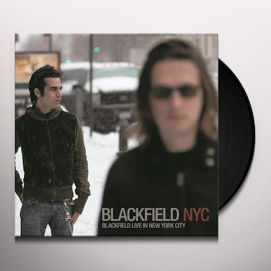 Blackfield LIVE IN NYC Vinyl Record