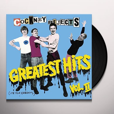 Cockney Rejects GREATEST HITS VOL 2 Vinyl Record