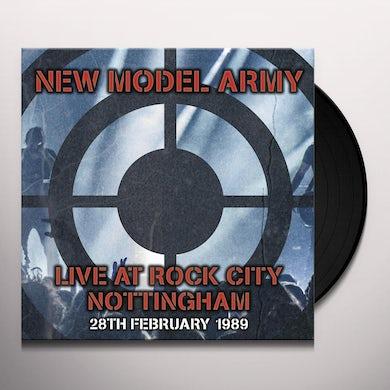 New Model Army Live At Rock City Nottingham 1989 Vinyl Record