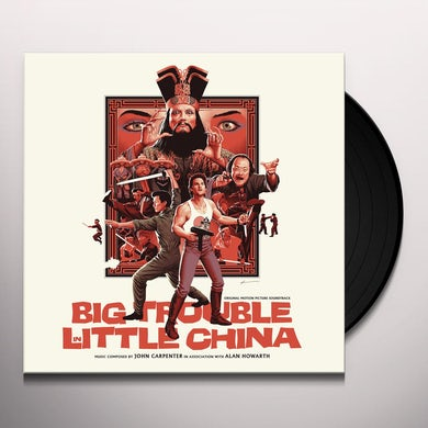 John Carpenter BIG TROUBLE IN LITTLE CHINA (ORIGINAL SOUNDTRACK) Vinyl Record