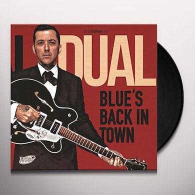 Al Dual BLUE'S BACK IN TOWN Vinyl Record