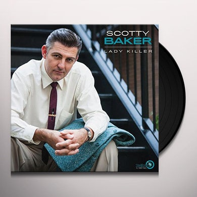 Scotty Baker LADY KILLER Vinyl Record