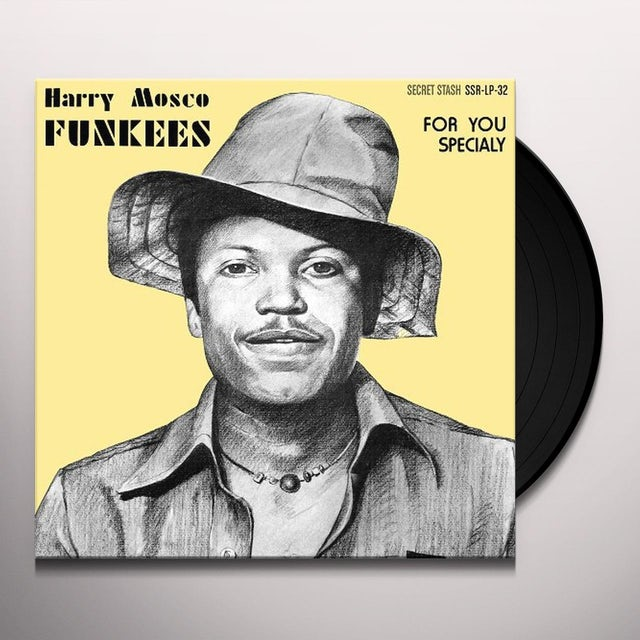 Harry Mosco FOR YOU SPECIALLY Vinyl Record - Digital Download Included