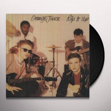 Orange Juice RIP IT UP Vinyl Record