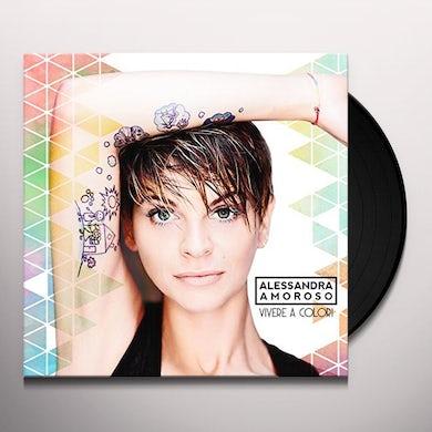Alessandra Amoroso VIVERE A COLORI Vinyl Record