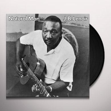 J.B. Lenoir NATURAL MAN Vinyl Record
