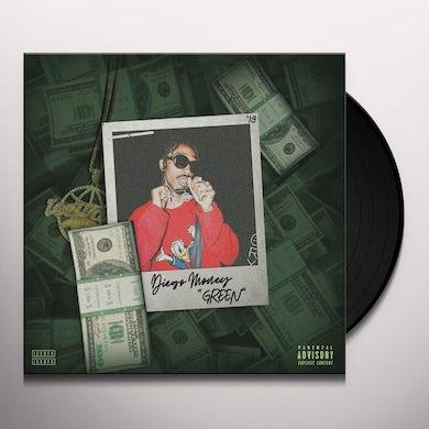 Diego Money Green Vinyl Record