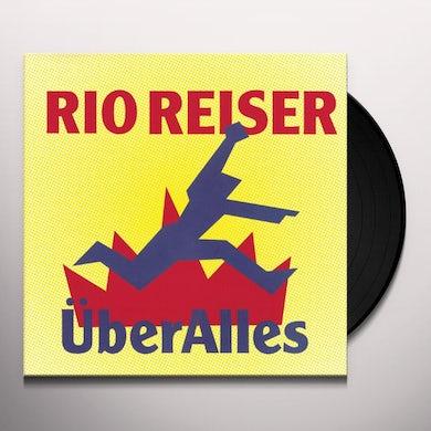 Rio Reiser UEBER ALLES Vinyl Record