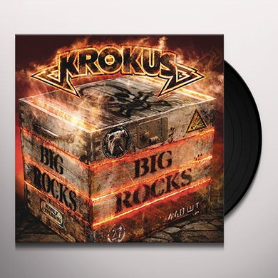 Krokus BIG ROCKS Vinyl Record