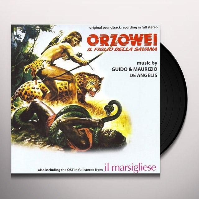 Guido & Maurizio De Angelis MILANO TREMA: LA POLIZIA VUOLE GIUSTIZIA / Original Soundtrack Vinyl Record