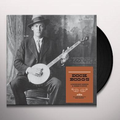 Dock Boogs LEGENDARY SINGER & BANJO PLAYER Vinyl Record